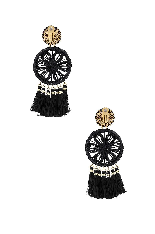 Image 4 of Mercedes Salazar Gardenia Ceniza Earrings in Ash
