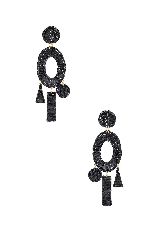 Image 1 of Mercedes Salazar Femme Earrings in Black