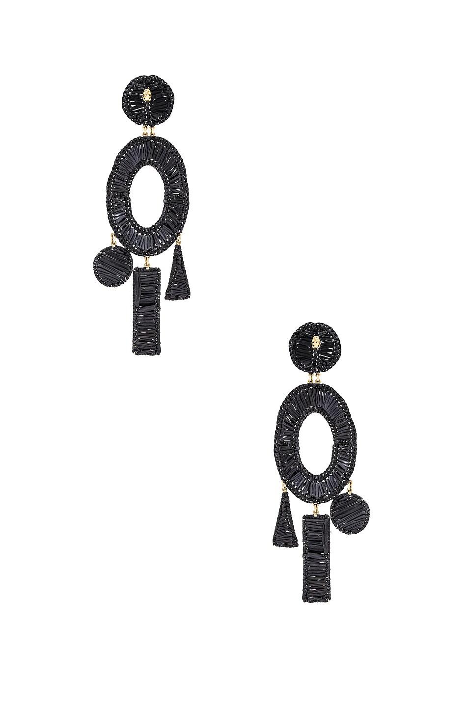 Image 4 of Mercedes Salazar Femme Earrings in Black