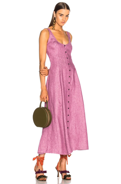 Image 1 of Mara Hoffman Ophelia Dress in Mauve