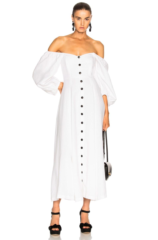 Image 1 of Mara Hoffman Mika Dress in White