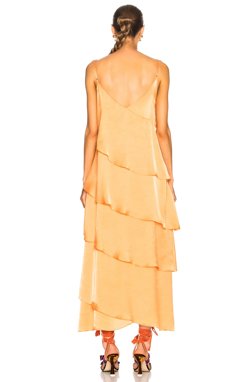 Image 3 of Mara Hoffman Salome Dress in Nectarine