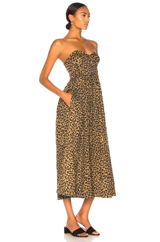 Image 2 of Mara Hoffman Mercedes Dress in Black Sage