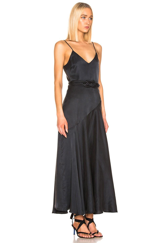 Image 2 of Mara Hoffman Belted Nina Dress in Black