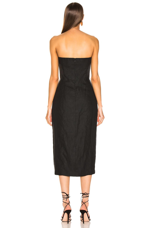 Image 3 of Mara Hoffman Diaz Dress in Black