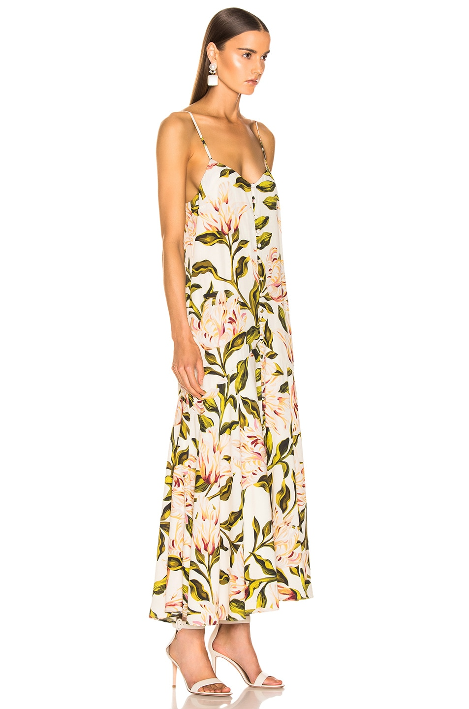 Image 2 of Mara Hoffman Diana Dress in Cream Multi
