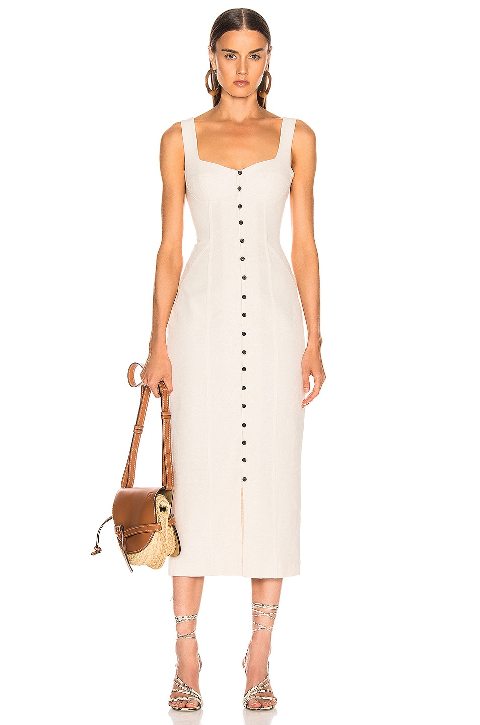 Image 1 of Mara Hoffman Angelica Dress in Natural