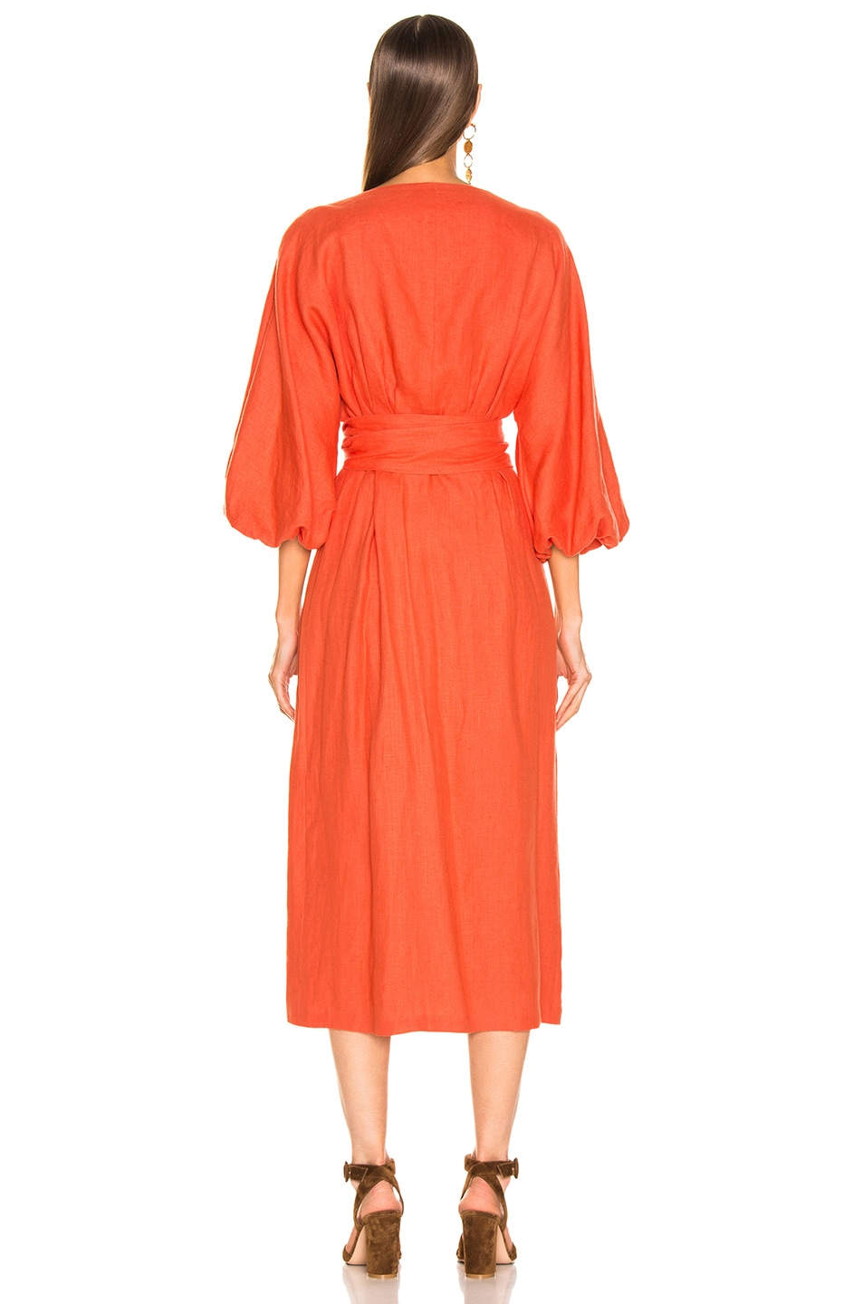 Image 3 of Mara Hoffman Francesca Dress in Poppy