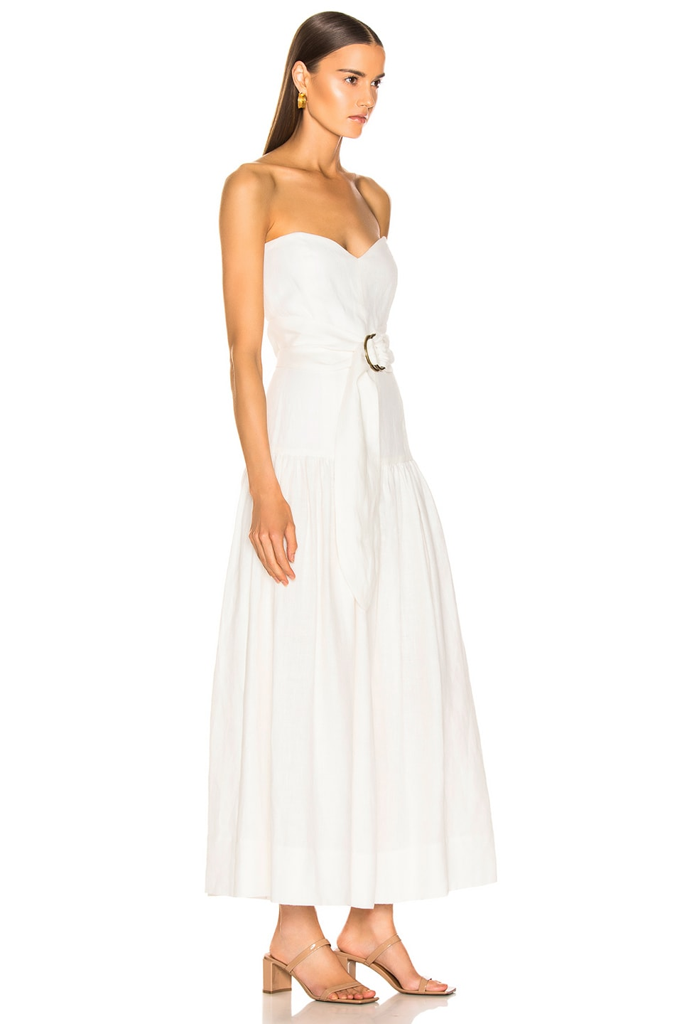 Image 2 of Mara Hoffman Augustina Dress in White