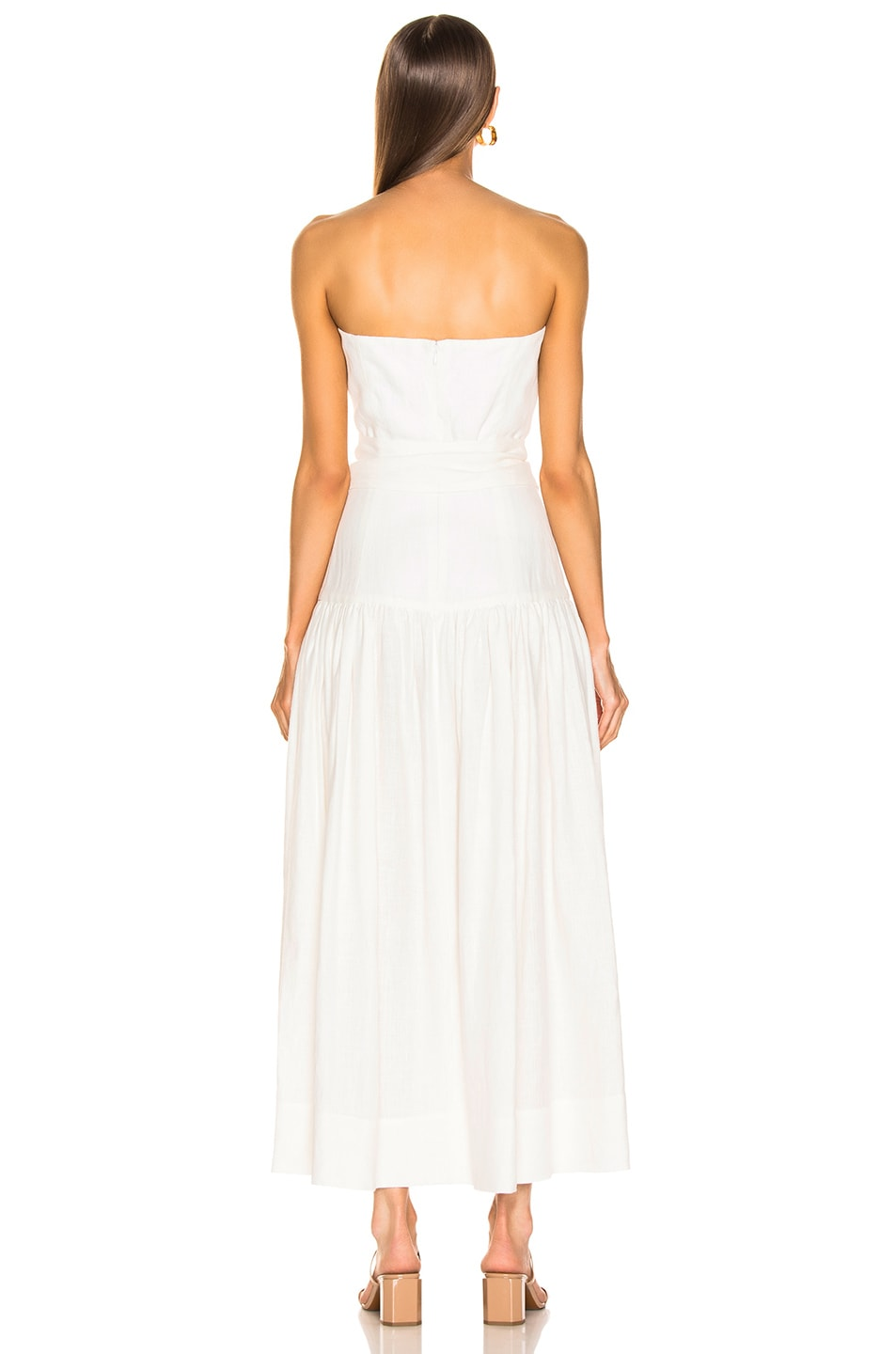 Image 3 of Mara Hoffman Augustina Dress in White