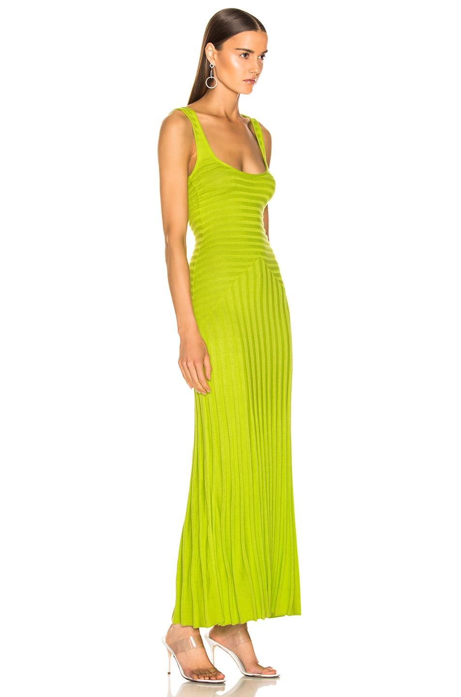 Image 2 of Mara Hoffman Michaela Dress in Lime