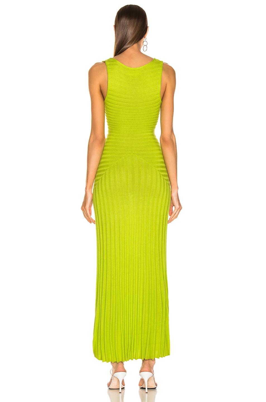 Image 3 of Mara Hoffman Michaela Dress in Lime
