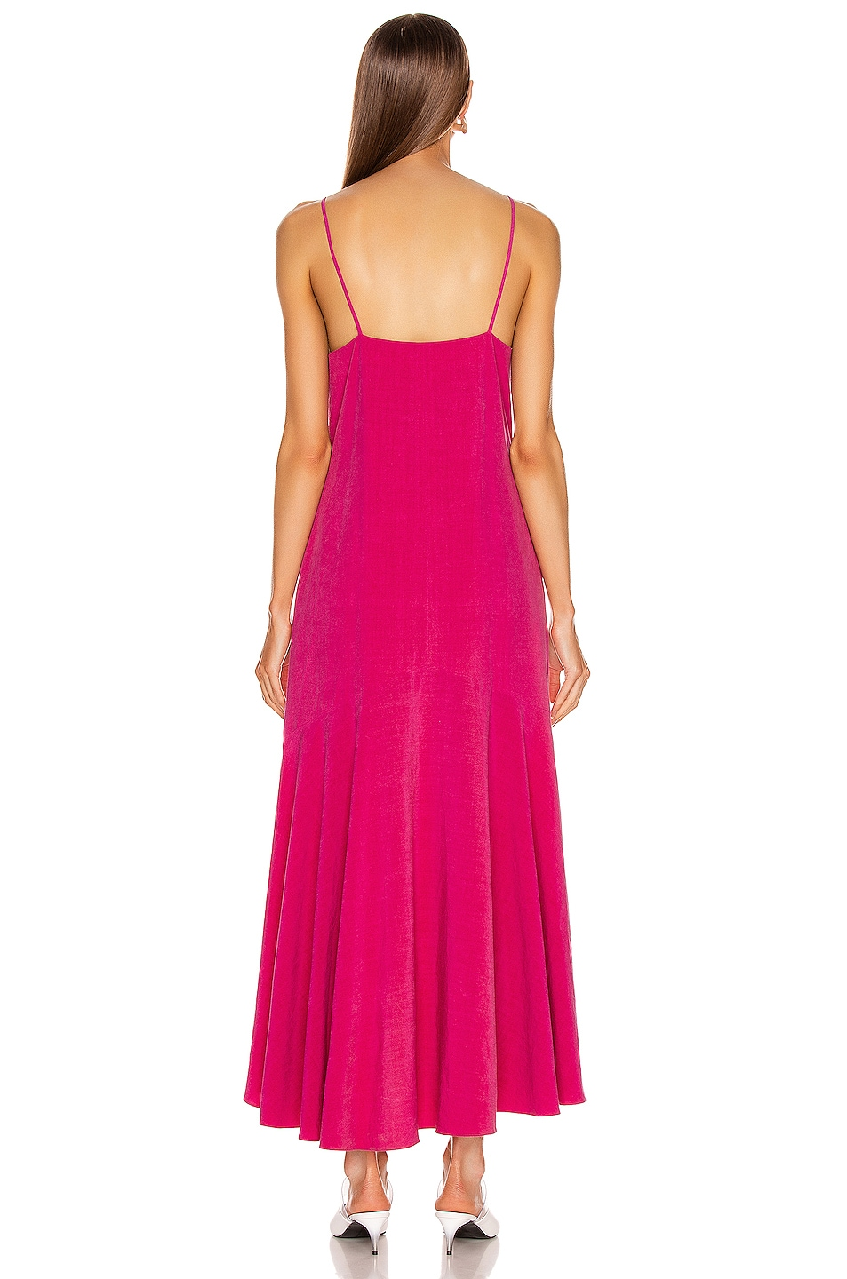 Image 3 of Mara Hoffman Diana Dress in Hot Pink