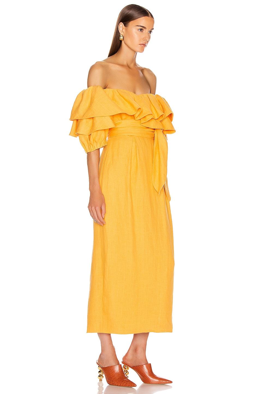 Image 2 of Mara Hoffman Arabella Dress in Yellow