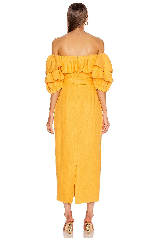 Image 3 of Mara Hoffman Arabella Dress in Yellow