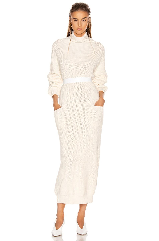 Image 1 of Mara Hoffman Elsa Dress in Cream