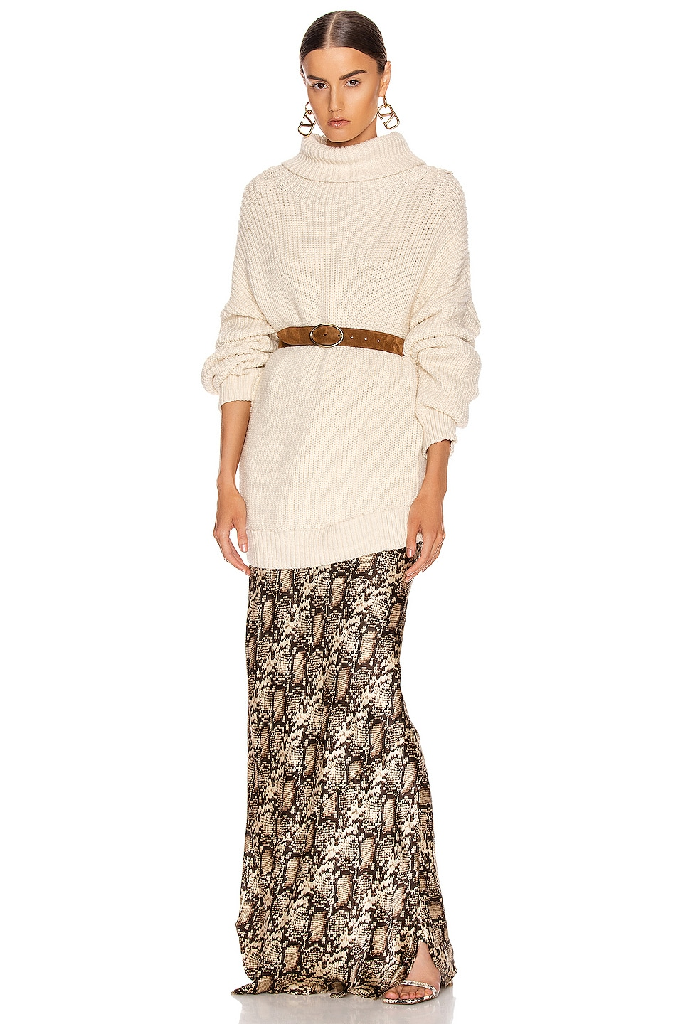 Image 1 of Mara Hoffman Evren Sweater in Cream