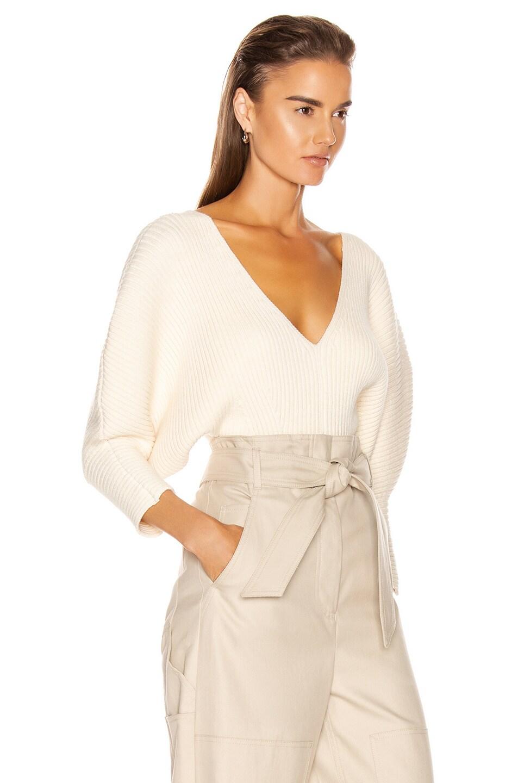 Image 2 of Mara Hoffman Olla Sweater in Cream