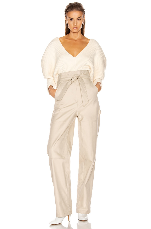 Image 4 of Mara Hoffman Olla Sweater in Cream