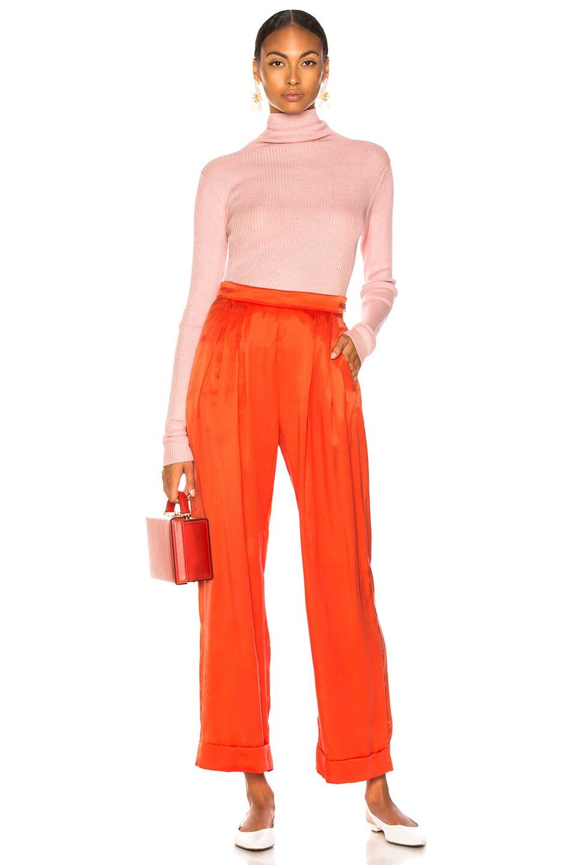 Image 4 of Mara Hoffman Caressa Pant in Red