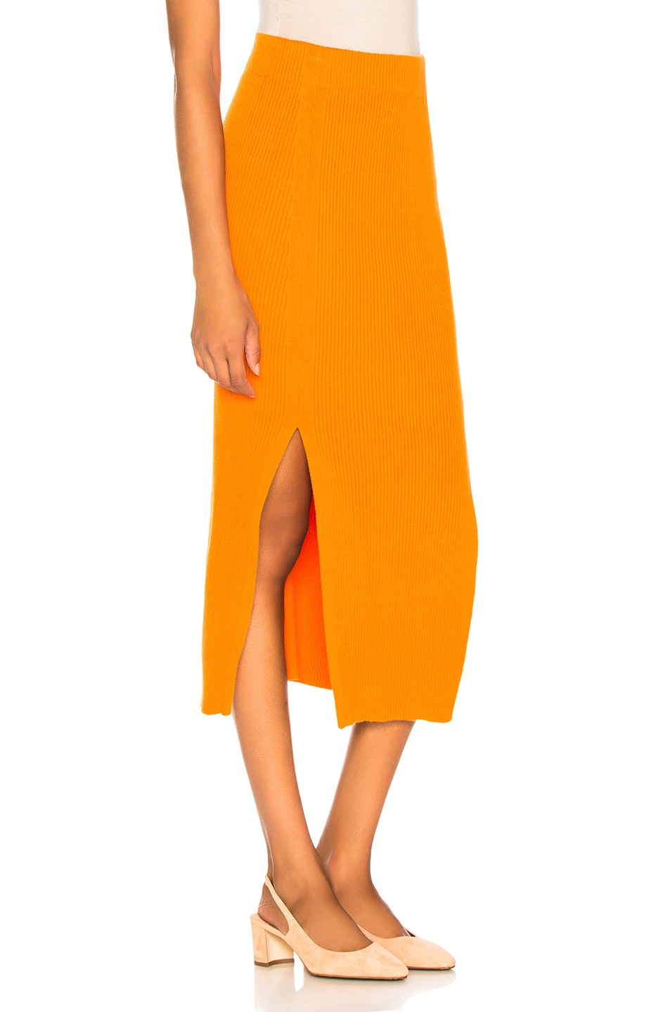 Image 2 of Mara Hoffman Leon Skirt in Orange