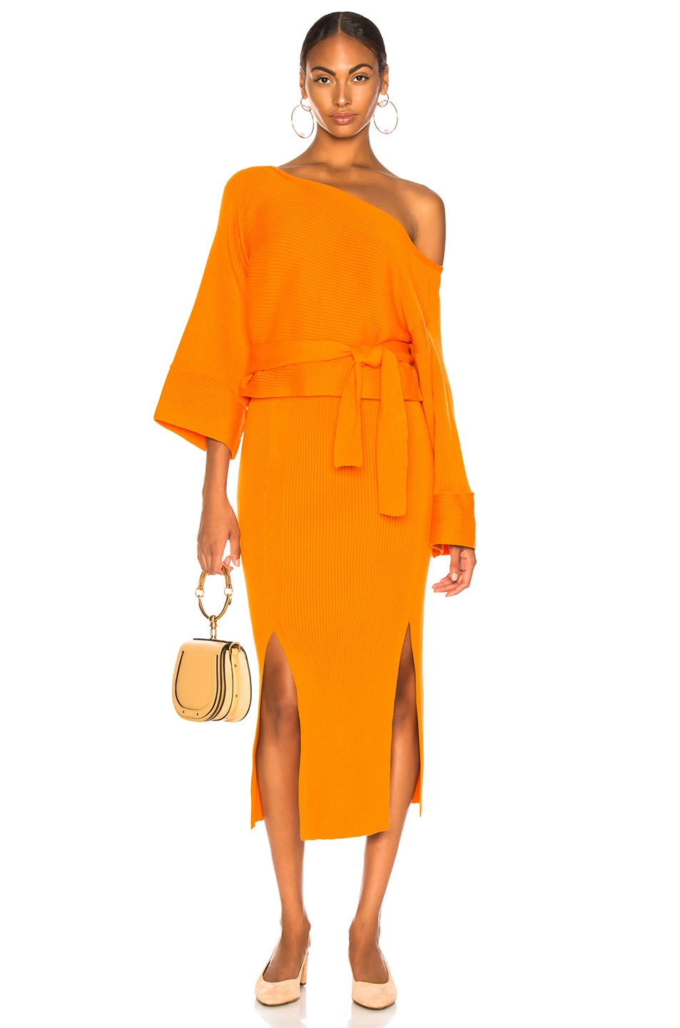 Image 4 of Mara Hoffman Leon Skirt in Orange