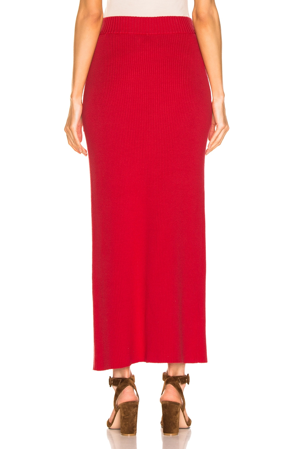 Image 4 of Mara Hoffman Elena Skirt in Red