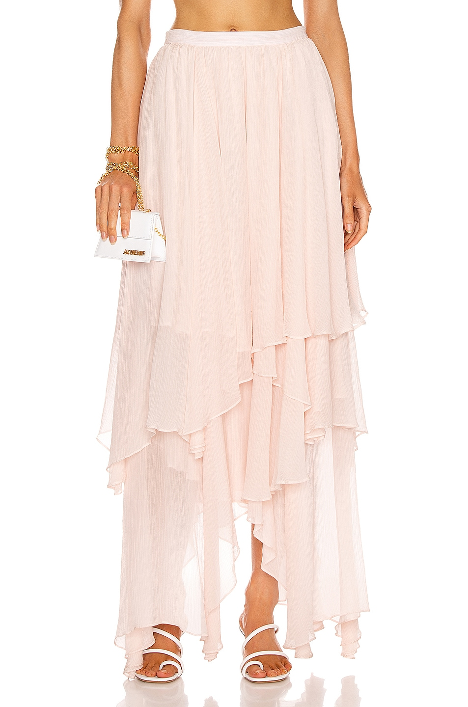 Image 1 of Mara Hoffman Carlotta Skirt in Blush
