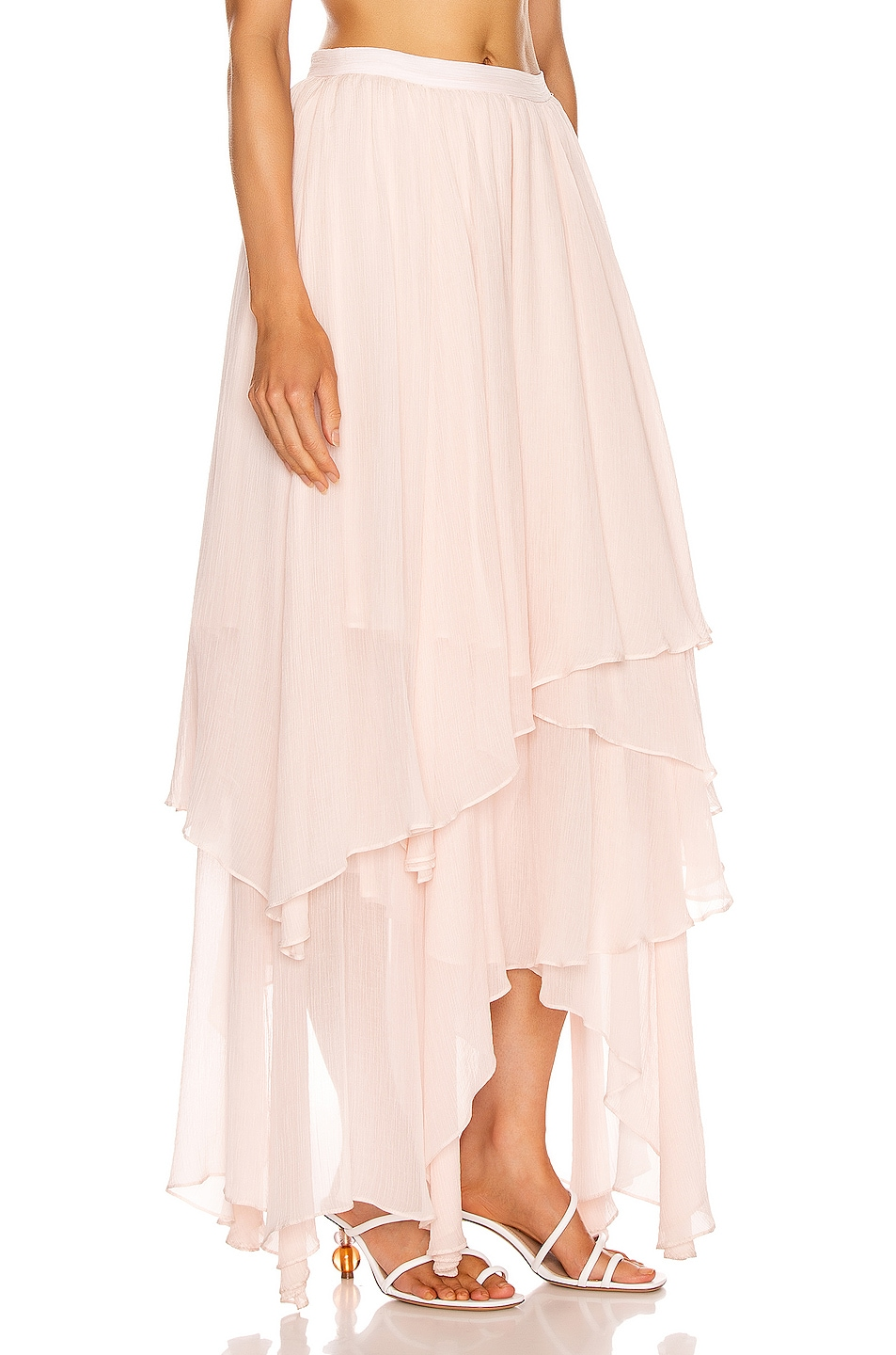 Image 2 of Mara Hoffman Carlotta Skirt in Blush