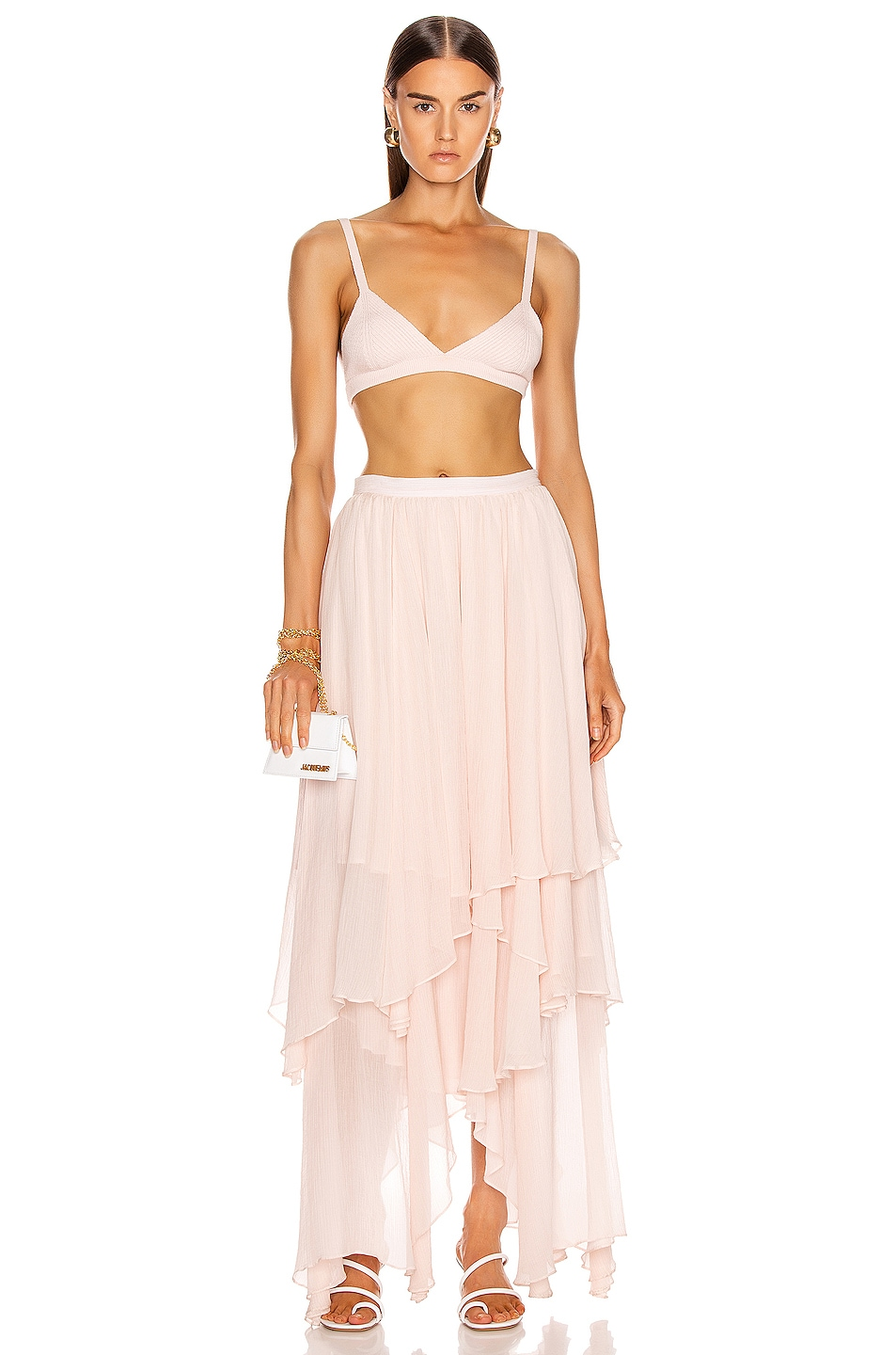 Image 4 of Mara Hoffman Carlotta Skirt in Blush