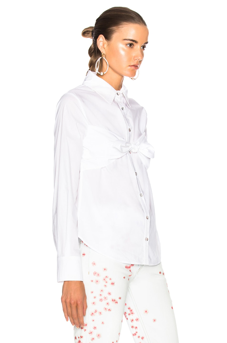 Free Shipping 2018 Newest Get To Buy Sale Online Elaine Top in White Mara Hoffman Cheap Sale Official Site Discount Original Manchester Sale Online N7QlReEkBQ