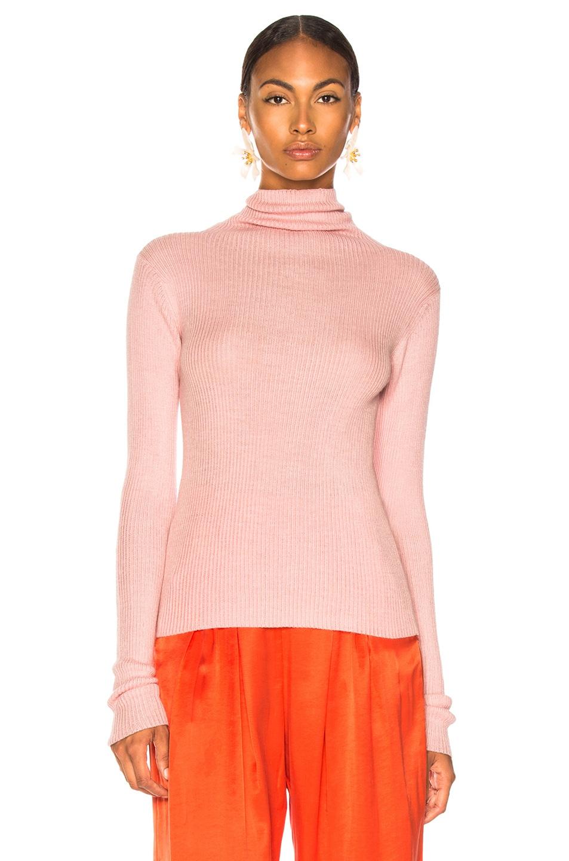 Image 2 of Mara Hoffman Ora Shirt in Pastel Pink