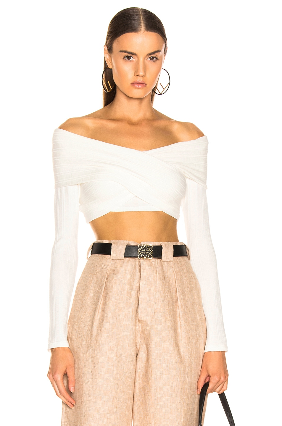 Image 1 of Mara Hoffman Noemi Top in White