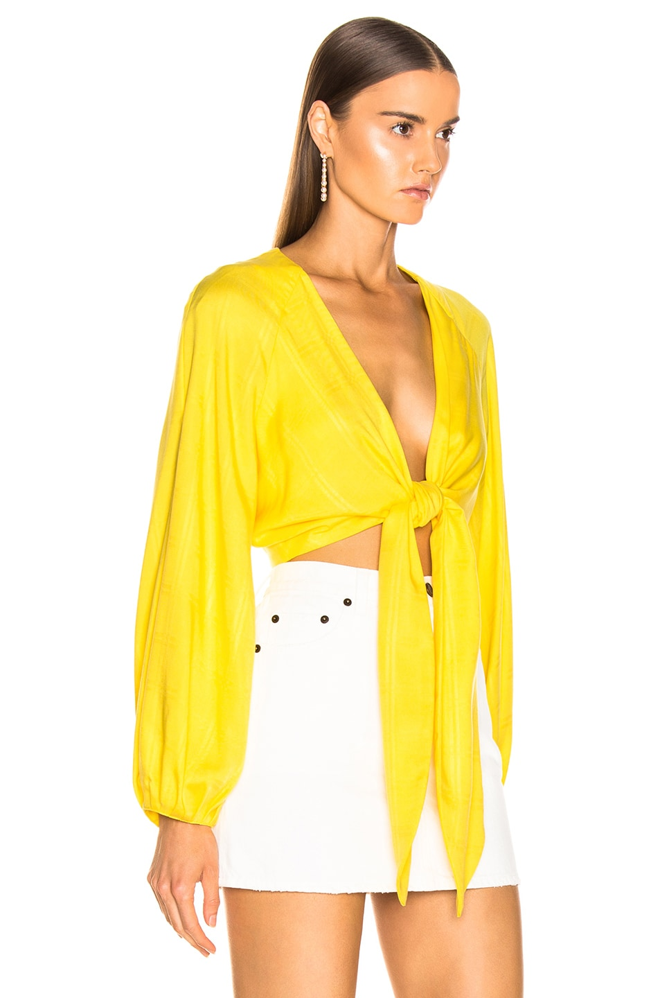 Image 2 of Mara Hoffman Gianna Top in Yellow