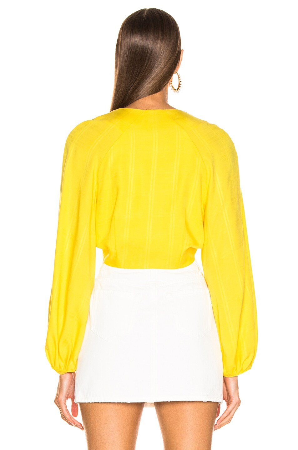 Image 3 of Mara Hoffman Gianna Top in Yellow
