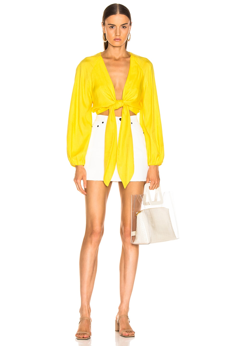 Image 4 of Mara Hoffman Gianna Top in Yellow