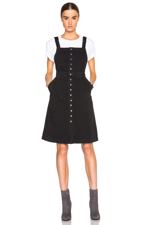 6453d4a6d90 Image 5 of M.i.h Jeans Eastman Dress in Black