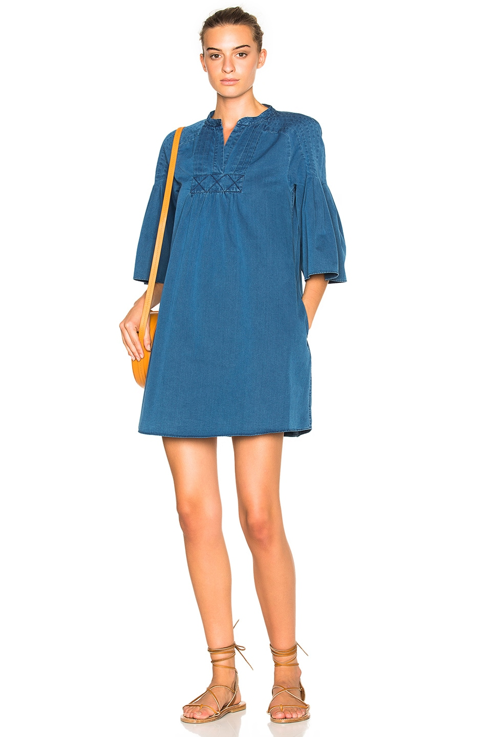 Image 1 Of M I H Jeans George Dress In Indigo