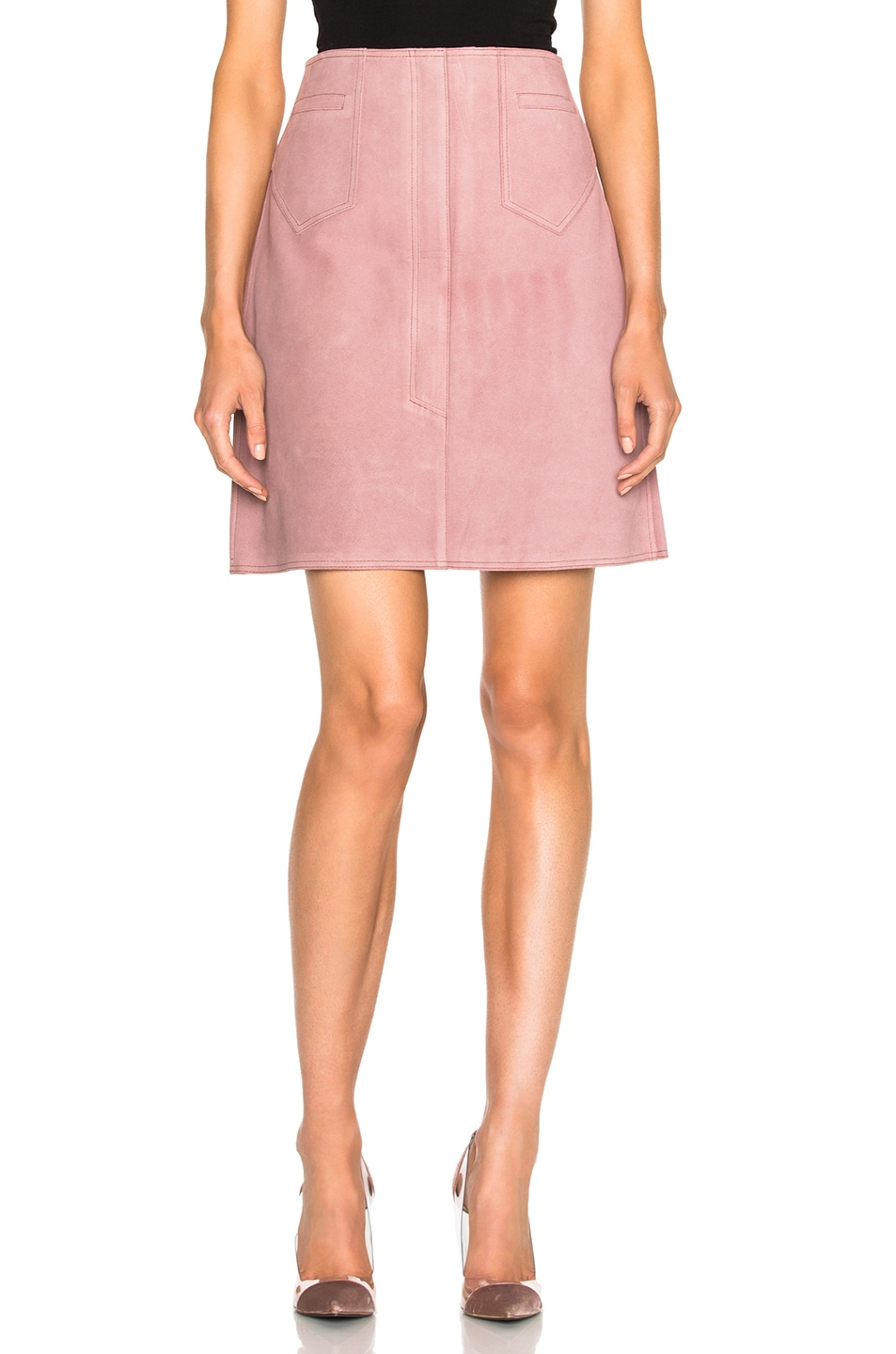 Image 1 of M.i.h Jeans Coda Skirt in Newport Pink