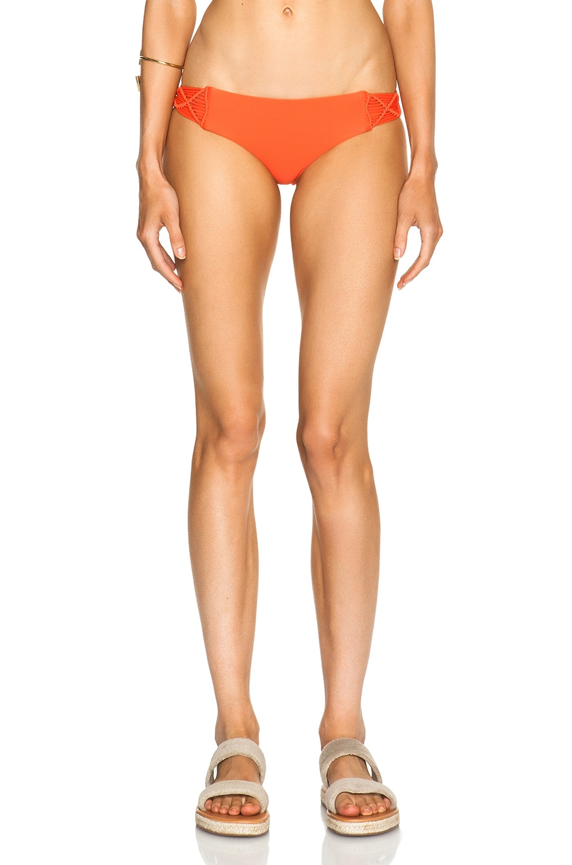 Image 1 of MIKOH Cayman Bikini Bottom in Persimmon