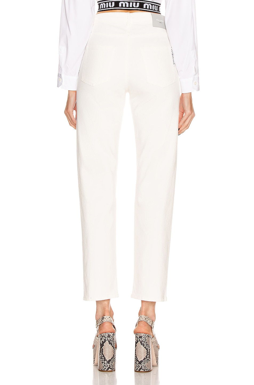 Image 3 of Miu Miu High Waisted Jean in White