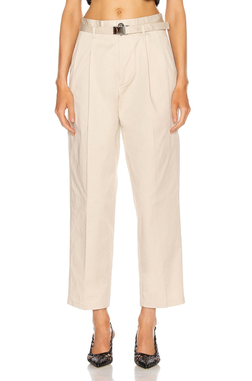 Image 1 of Miu Miu Wide Leg Pant in Lavanda