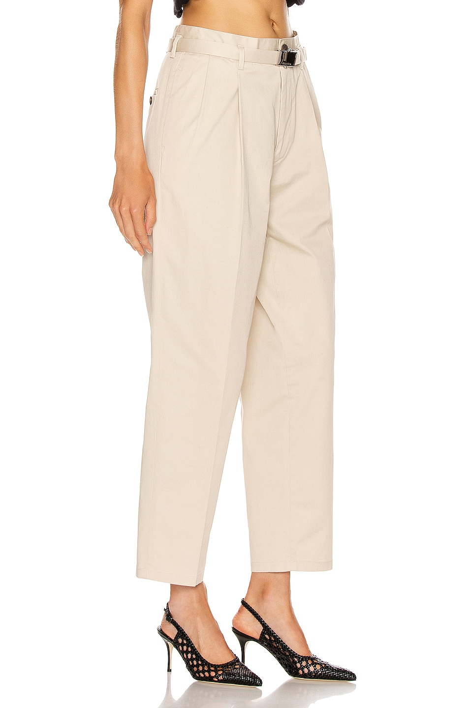 Image 2 of Miu Miu Wide Leg Pant in Lavanda