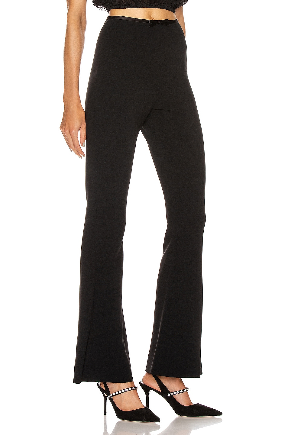 Image 2 of Miu Miu Flare Pant in Black