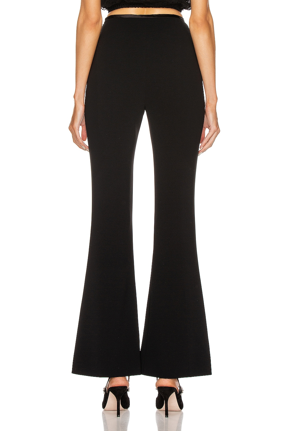 Image 3 of Miu Miu Flare Pant in Black