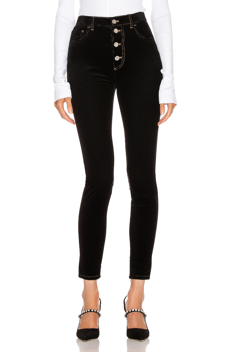 Image 1 of Miu Miu Skinny Pant in Black