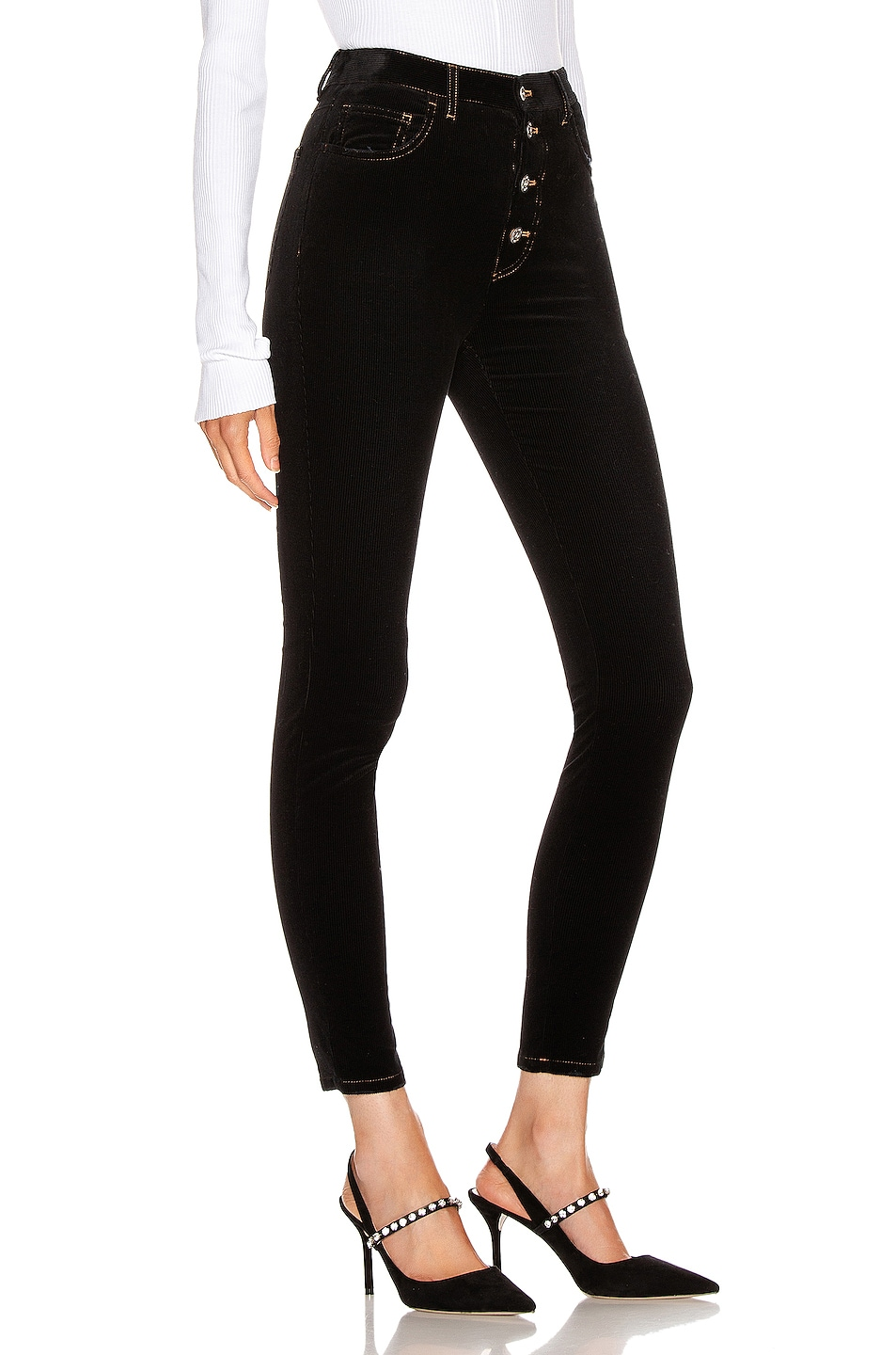 Image 2 of Miu Miu Skinny Pant in Black