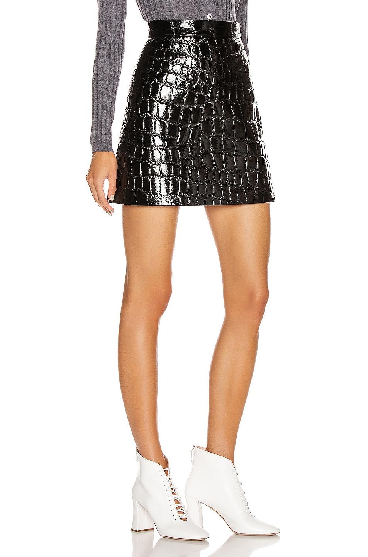 Image 2 of Miu Miu Mini Skirt in Black
