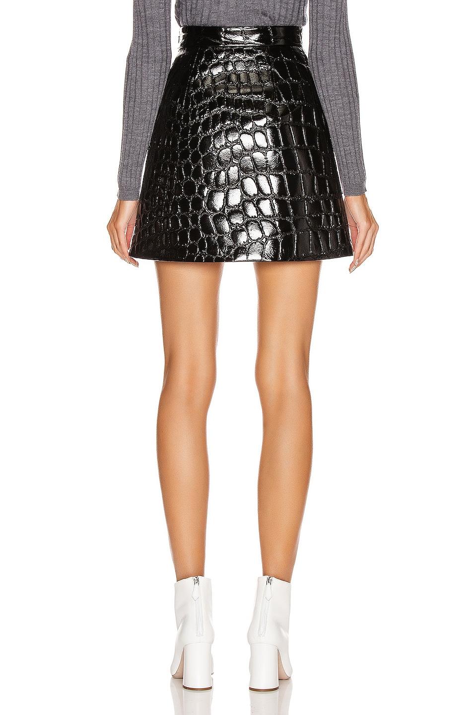 Image 3 of Miu Miu Mini Skirt in Black