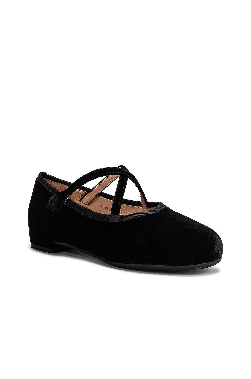 Image 2 of Miu Miu Ballerina Flats in Black